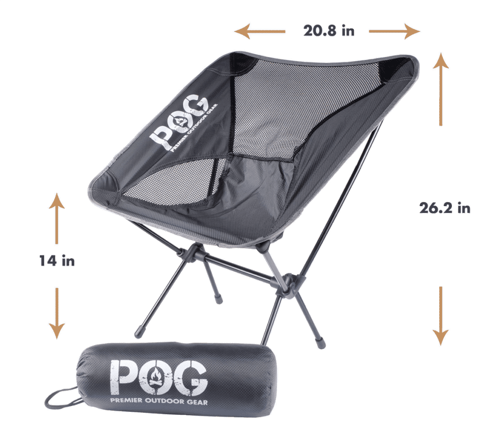 Best Camping Chairs Lightweight Portable Backpacking