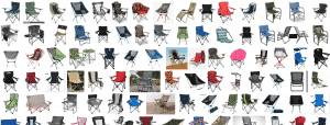 A plethora of camp chairs