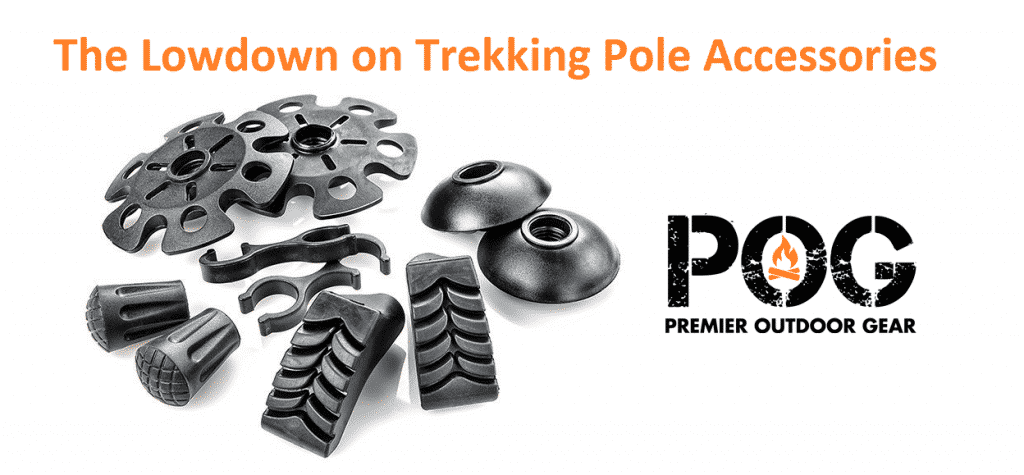 POG Accessories for carbon fiber trekking poles